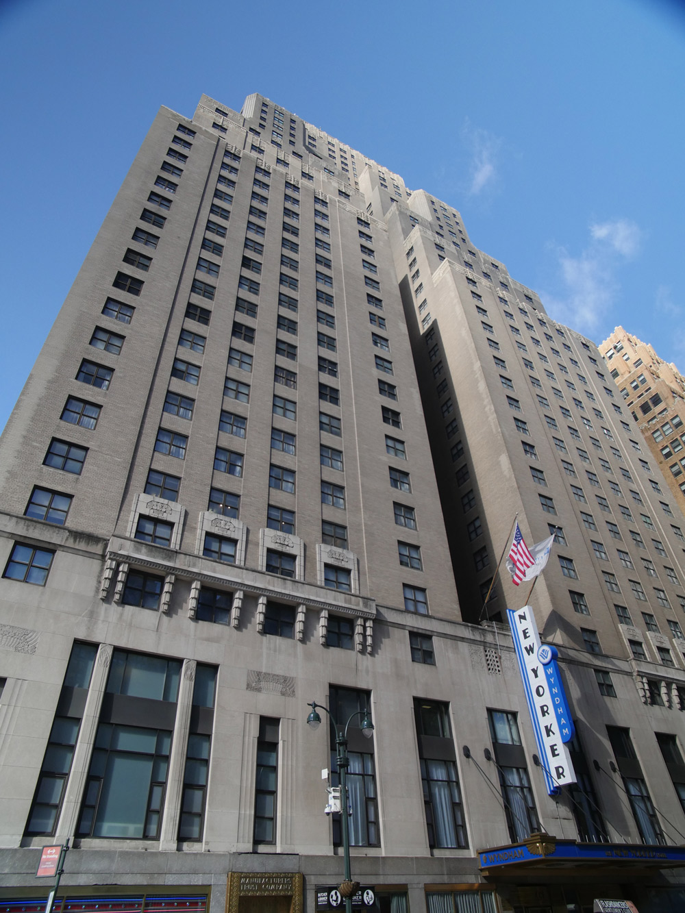 The New Yorker Hotel Skyline Restoration