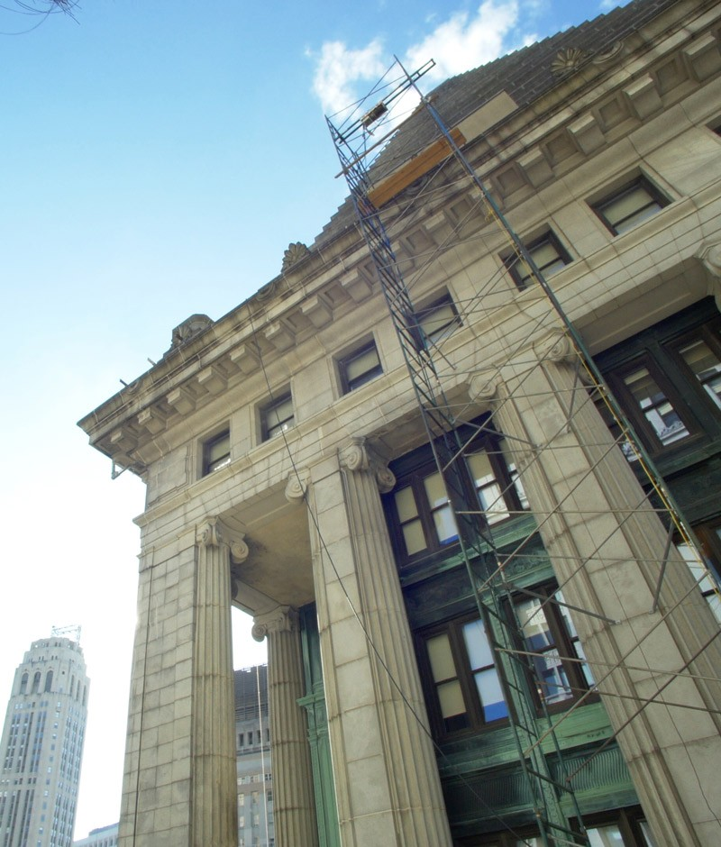 14 Wall Street Skyline Restoration